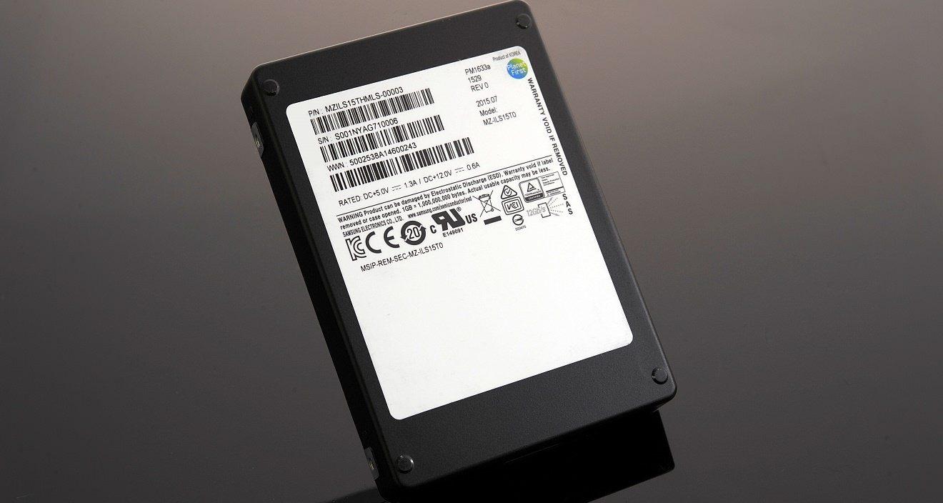 Samsung PM1633a 16TB SSD World's Largest SSD