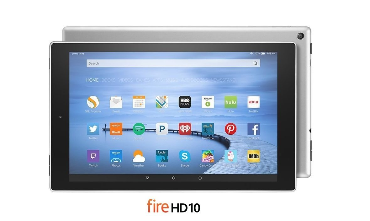 Now Buy Amazon Fire HD 10 Tab in All-Metal