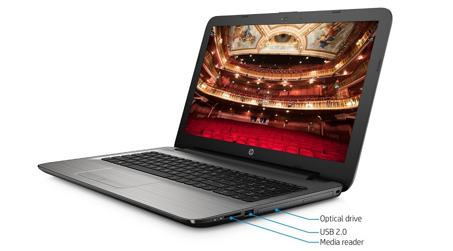 HP 15-ay013nr Ports and Connectivity