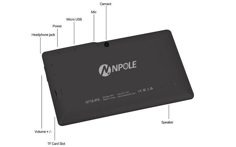 POLE N718 Tablet Ports