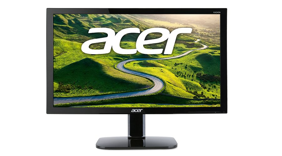 Acer KA240H bd 24-inch LED Monitor Front