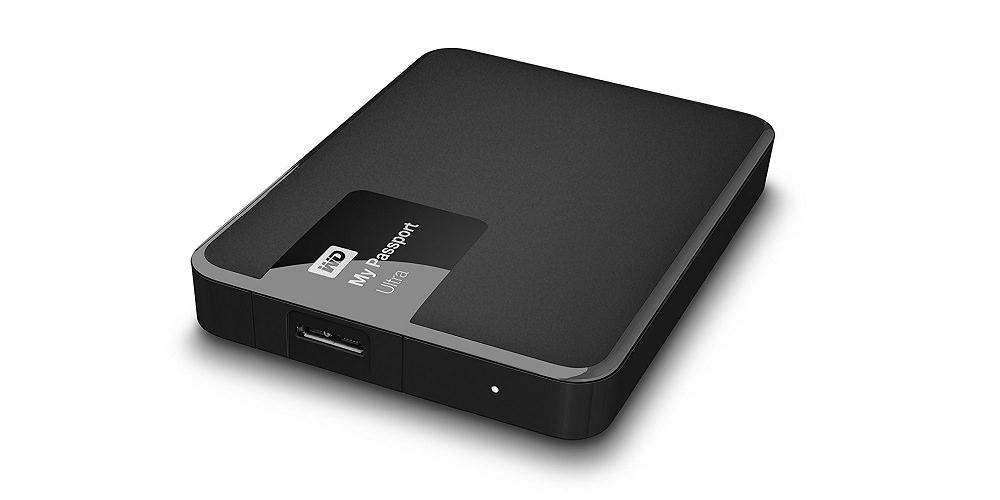 WD My Passport Ultra Portable External Hard Drive [WDBBKD0040BBK-NESN]