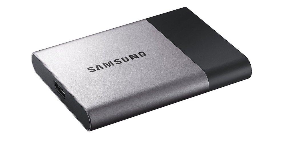 Samsung T3 Portable External Solid State Drive [MU-PT500B/AM]
