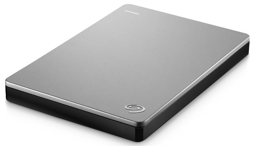 Seagate Backup Plus Slim Portable External Hard Drive [STDS1000100]