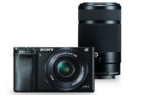 Sony Alpha a6000 Mirrorless Digital Camera Deal
