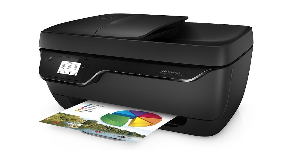 HP OfficeJet 3830 AIO Printer