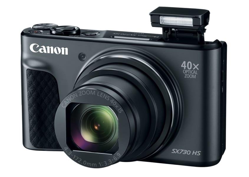 Canon PowerShot SX730 Flash