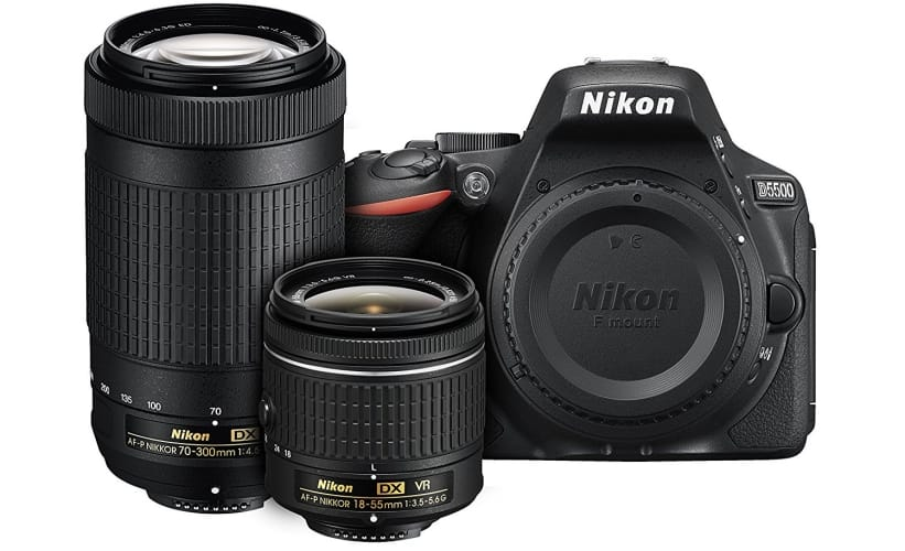 Nikon D5500 Digital SLR Camera Bundle
