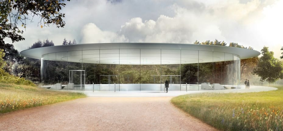 Steve Jobs Theatre at Apple Park Campus, Cupertino