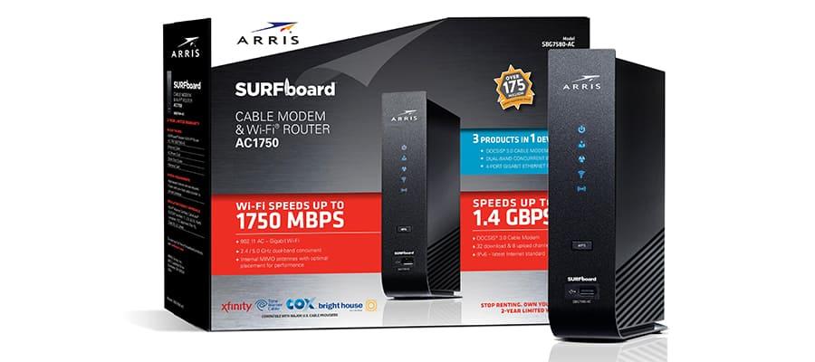 ARRIS SURFboard SBG7580AC