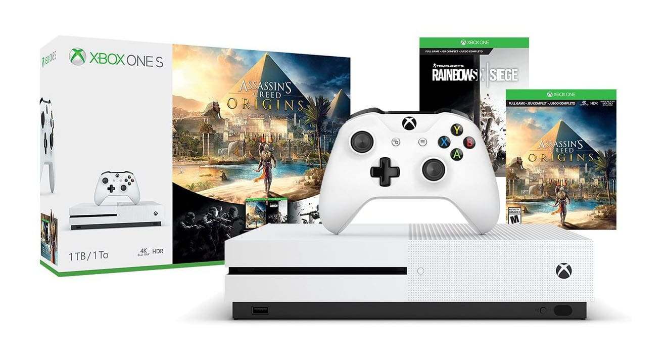 Buy an Xbox One S Bundle and Get an Additional Game Free
