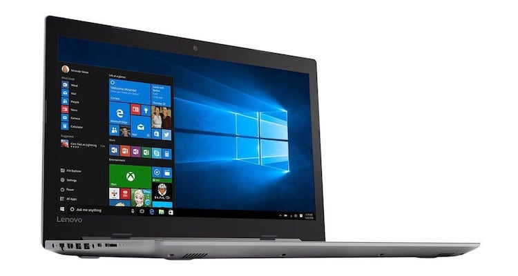 Lenovo Ideapad 320 laptop with Core i7 and 12GB RAM