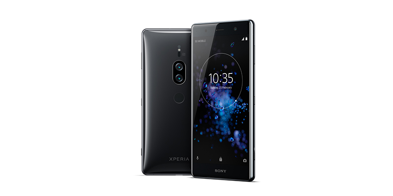 Sony Xperia XZ2 Premium Front and Back