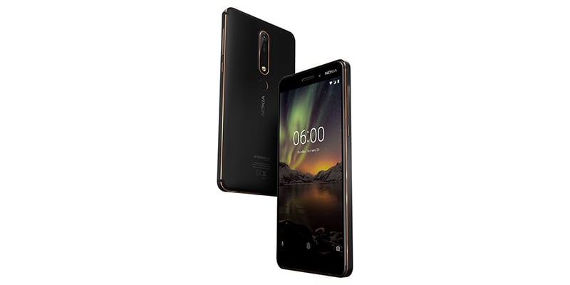 Nokia 6.1 Available in India