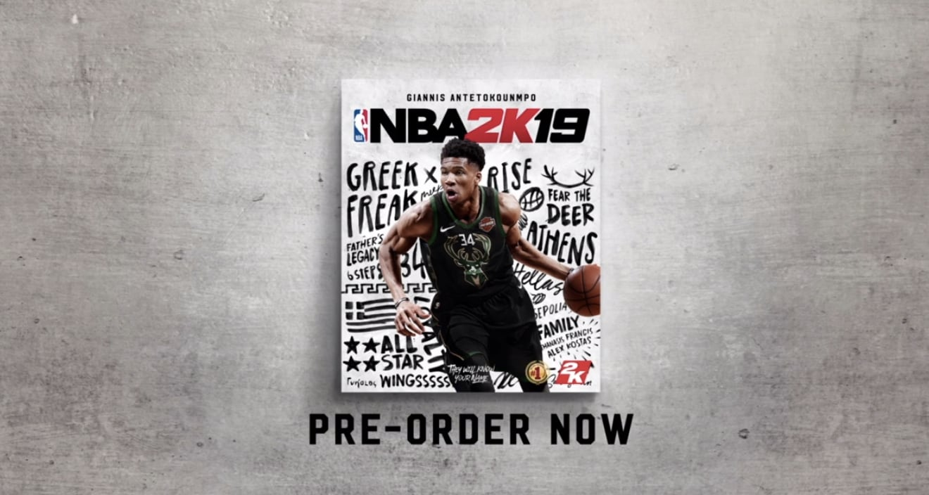 NBA 2K19 Is Available for Pre-order for Xbox, PS4, Switch and PC