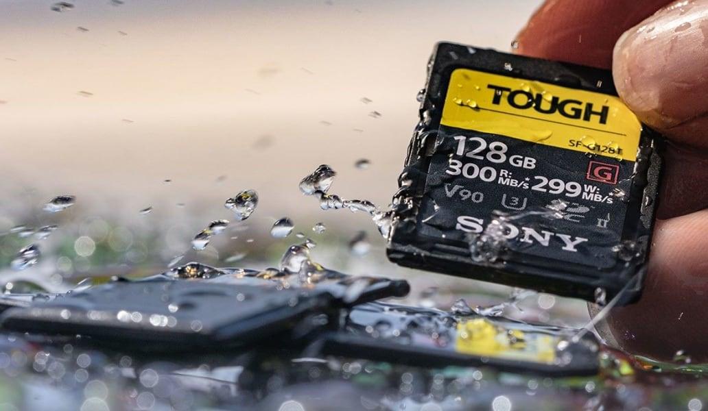 Sony SF-G TOUGH Waterproof and Dustproof