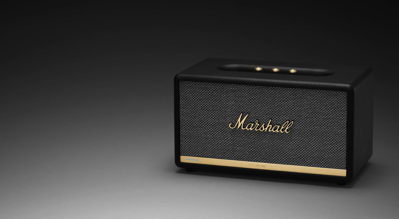 Marshall Speakers with Alexa