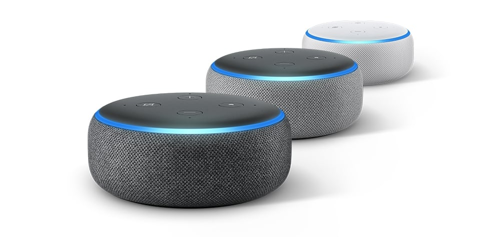 New Amazon Echo Dot Smart Speaker