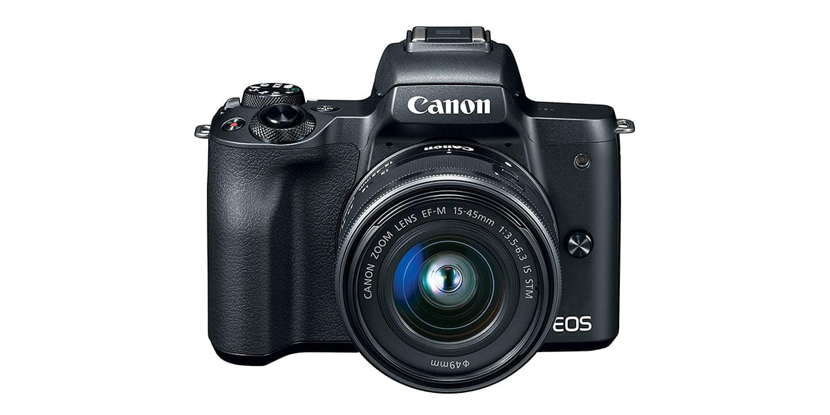 Canon EOS M50 Mirrorless Camera for Just $599