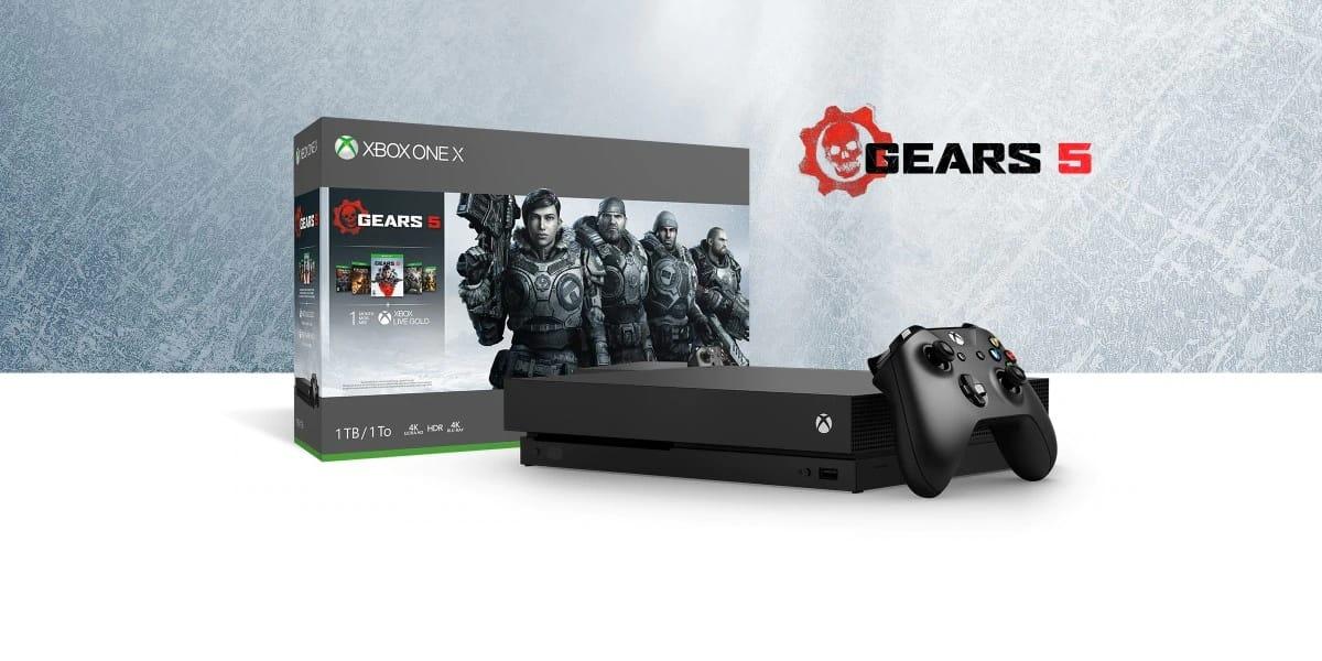 Xbox One X Gears 5 1TB Bundle Deal