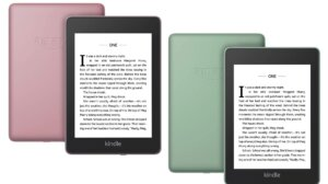 Amazon Kindle Paperwhite New Colours
