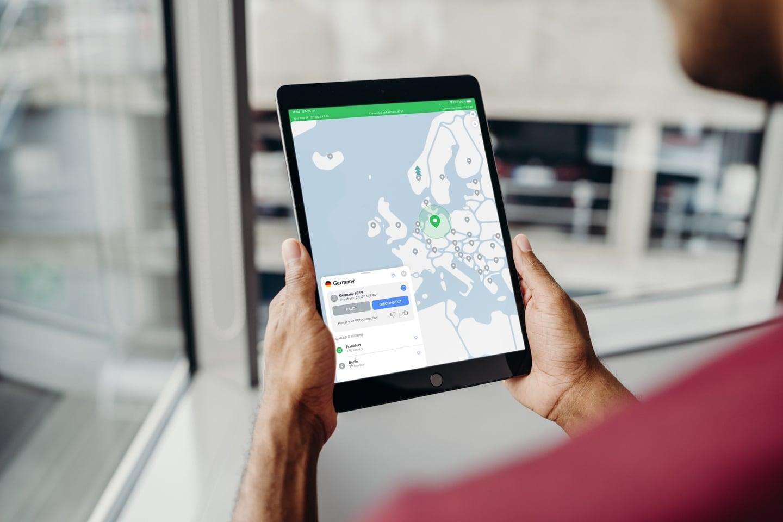 NordVPN on iPad